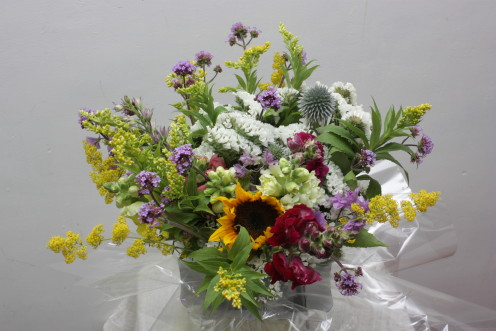 The farm hopes to survive to expand its promising cut flower business