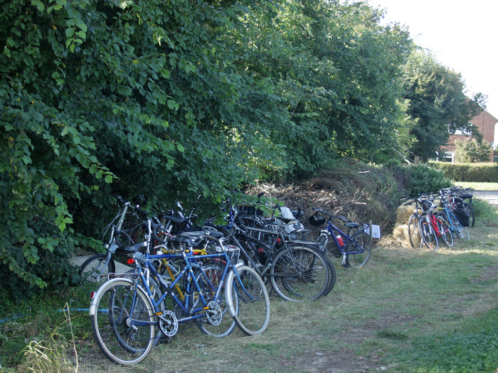 Bikes at The Oak Tree Farm