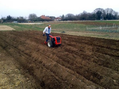 tractoring too