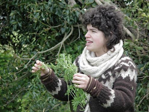 Tasha, foraging queen!