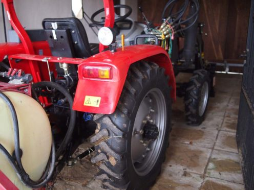 Once again, Joanne has tractor envy.
